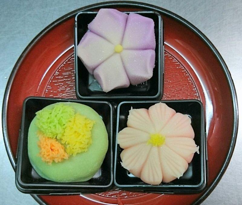 秋の生菓子|栄久堂吉宗 四條畷